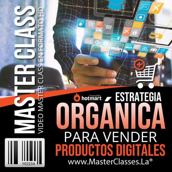 Curso Estrategia Orgánica para Vender Productos Digitales