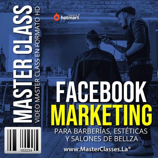 Curso Facebook Marketing para Barberías y Estéticas