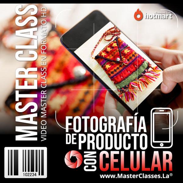 Curso Fotografía de Producto con Celular