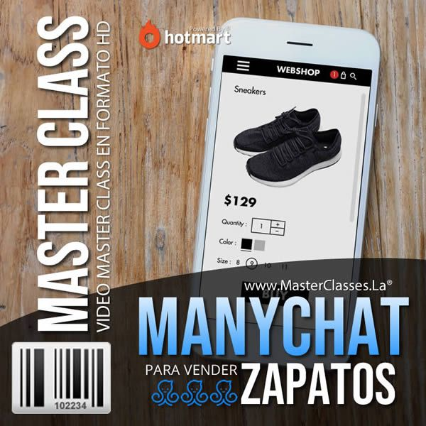 Curso ManyChat para Vender Zapatos