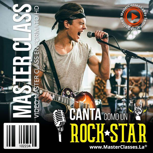 Curso Canta Como Un RockStar