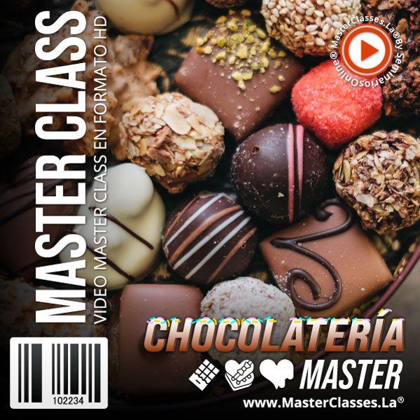 Curso Chocolatería Master