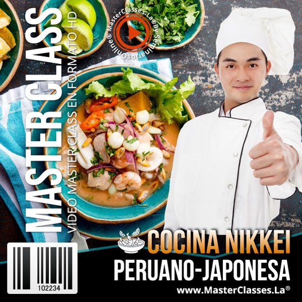 Curso Cocina Nikkei - Peruano Japonesa