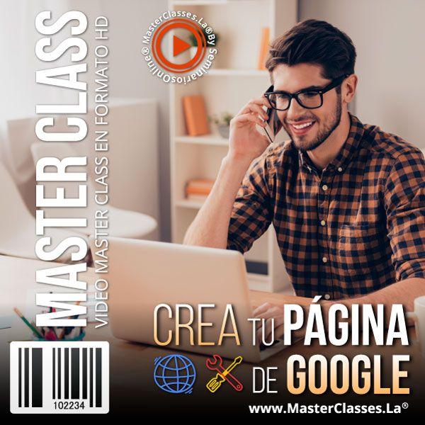 Curso Crea Tu Página de Google
