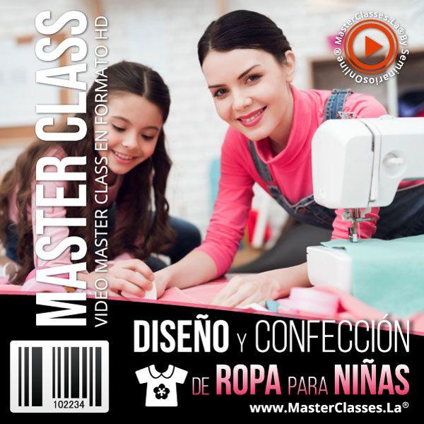 Curso Diseño y Confección de Ropa para niñas
