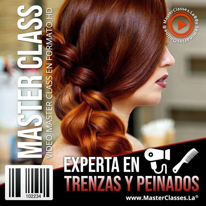 Curso Experta en Trenzas y Peinados