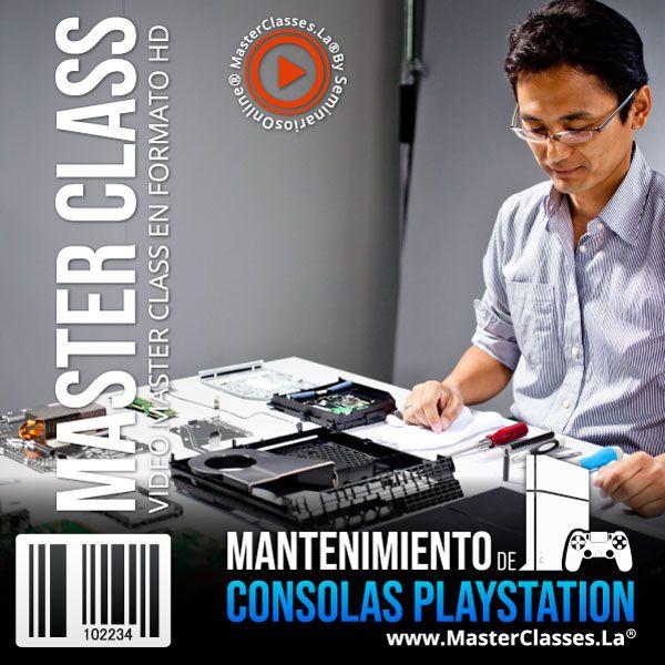 Curso Mantenimiento de Consolas PlayStation