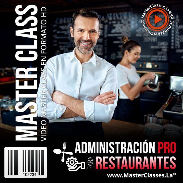 Curso Administración Pro para Restaurantes