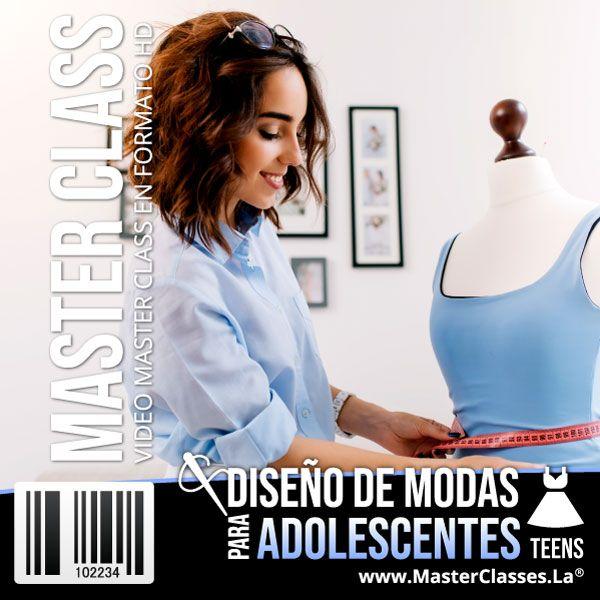 Curso Diseño de Modas para Adolescentes