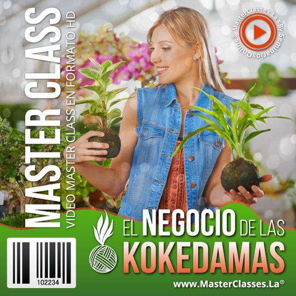 Curso El Negocio de las Kokedamas