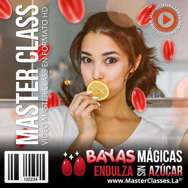 Curso Bayas mágicas endulza sin azúcar