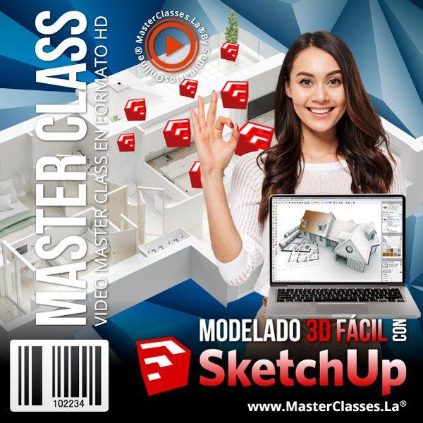 Curso Modelado 3D Fácil con SketchUp