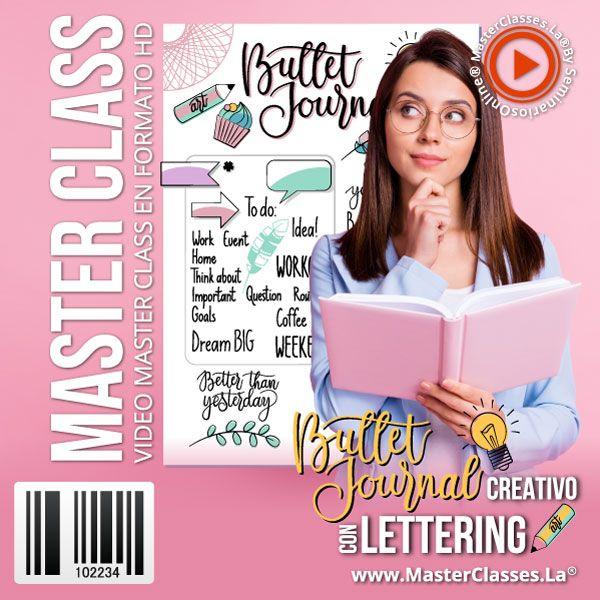 Curso Bullet Journal Creativo con Lettering