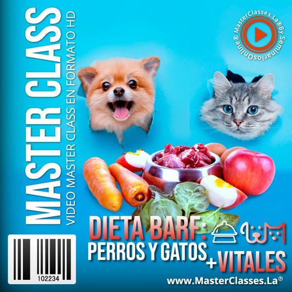 Curso Dieta Barf Perros y Gatos más Vitales