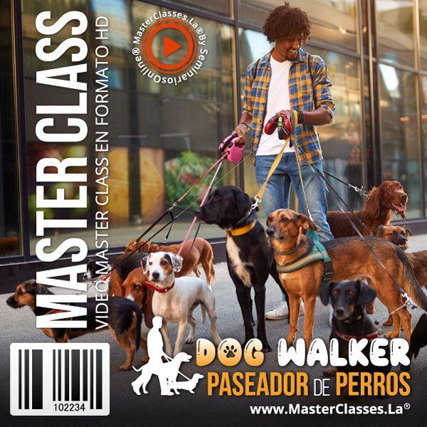 Curso Dog Walker - Paseador de Perros