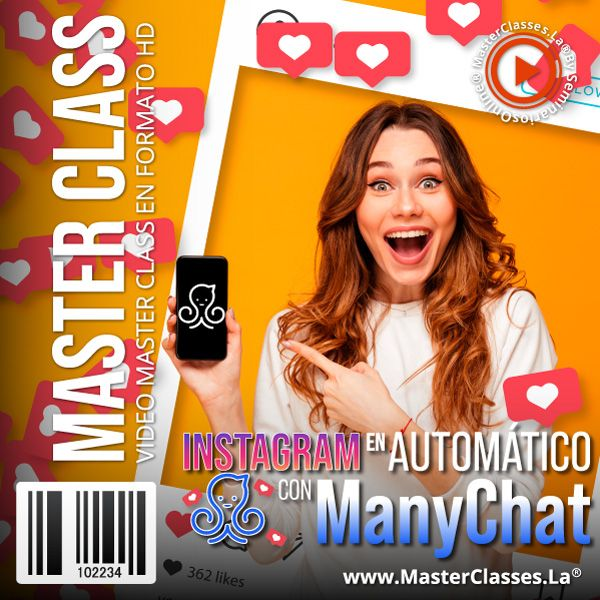 Curso Instagram en Automático con Manychat
