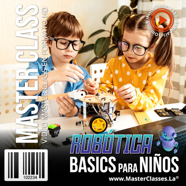 Curso Robótica Basics para Niños