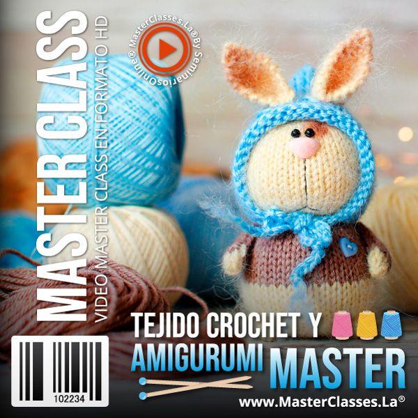Curso Tejido Crochet y Amigurumi Master