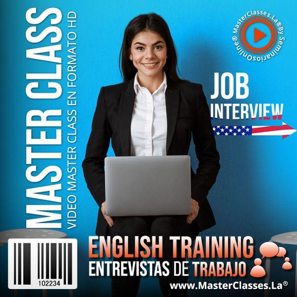 Curso English Training - Entrevistas de Trabajo